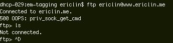 ftp-error